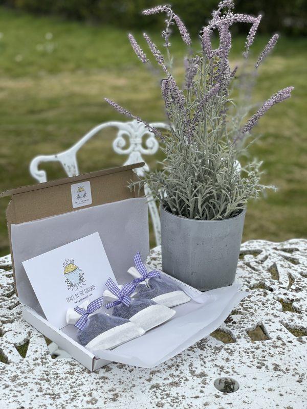 lavender box